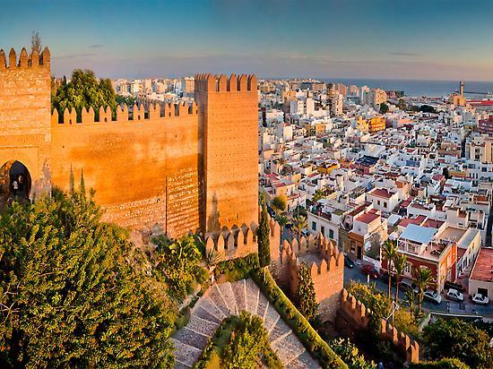 Entrance Alcazaba of Almería
