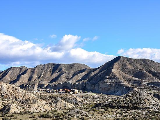 Poblado desierto Tabernas