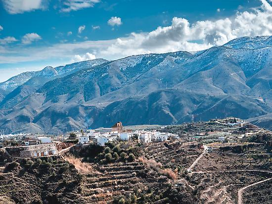Paisaje Sierra Nevada