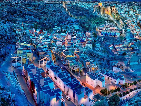 Barrio flamenco de la Chanca en Almería