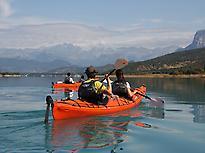 Kayak en Aínsa