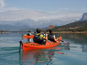 Kayak in Spain Pyrenees