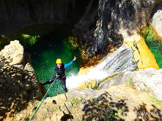 Abseiling in Ordesa National Park