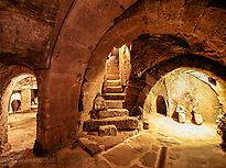 Underground cellar of Fermoselle
