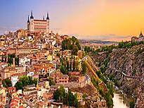 Toledo from a viewpoint