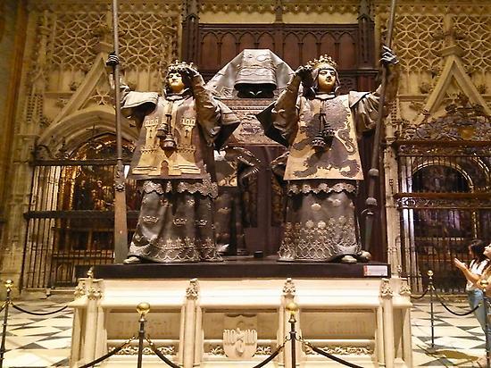 Tumba de Cristobal Colón.