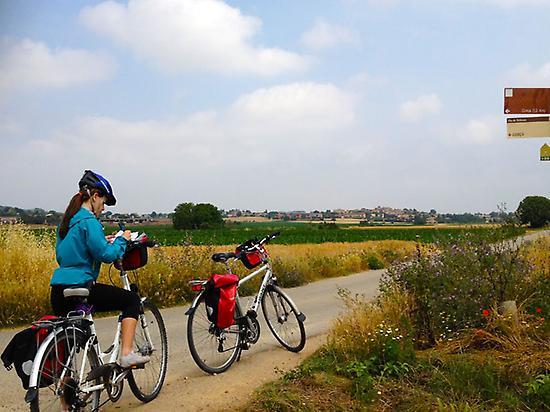Baix Empordà en bici para familias