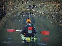 Kayak en el Cañón