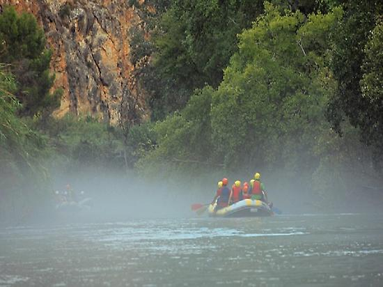 Descending the river Segura