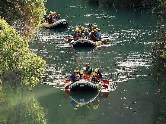 Raft Cañón de Almadenes