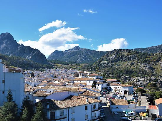 Grazalema with views of the Natural Park