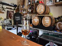 Palo cortado in an andalusian Tabanco