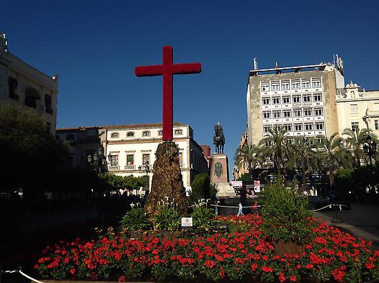 Plaza de las Tendillas - Central Cross