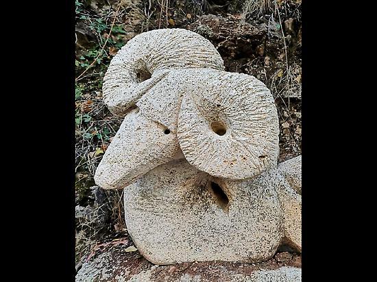 sculpture route in Bogarra