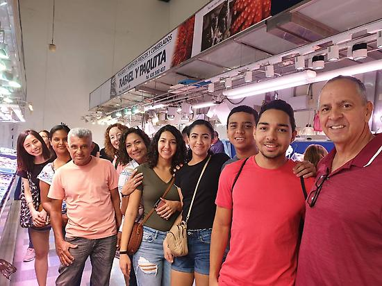 Visit market