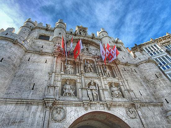 Arch of Santa María
