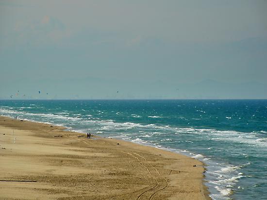 Cullera Beach, near your hotel.