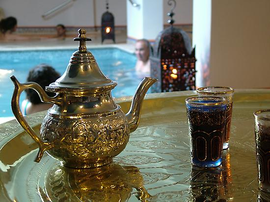 Arab baths, Andalucia, Massage