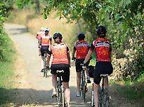 Cycling, Camino, tour, Pilgrims
