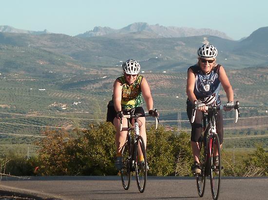 road biking, tour, countryside