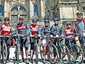 Group, Fun, Santiago, Cathedral
