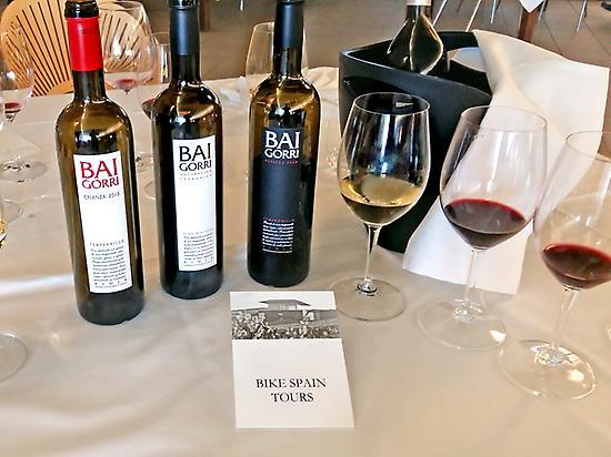 Tasting good wines