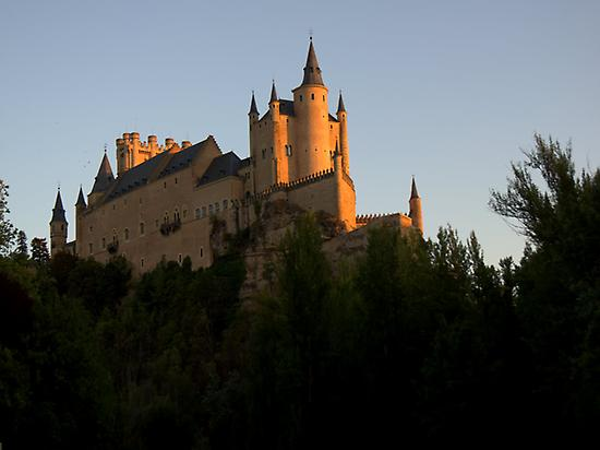 Segovia, Alcazar, Monument, Bicycle Tour