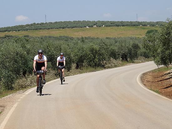 road biking, adventure, friends