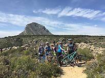Mountain bike with Aventura Pata Negra