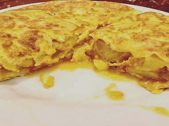 Tortilla de patatas en Vigo
