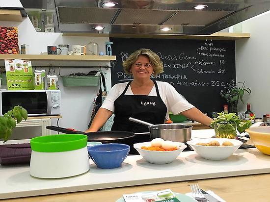 Nuestra chef !