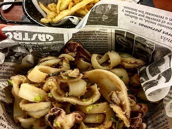Elaboraciones gastronómicas. Calamares