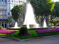 Vigo´s main promenade, Alameda de Vigo