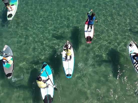 Paddle surf Malvarrosa Beach
