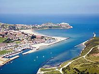 Suances' aerial view