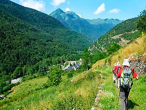 GR211. Path towards Bossòst