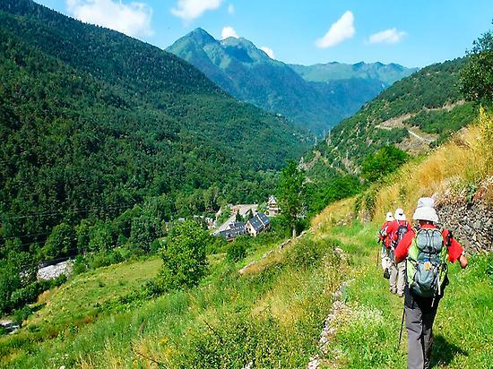 GR211. Path towards Bossòst