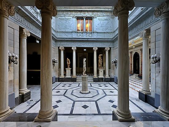 Pompeian Court