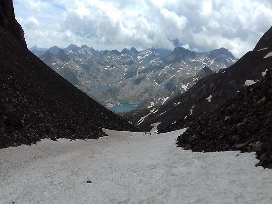 Vista desde Terrabay de Ibones Azules
