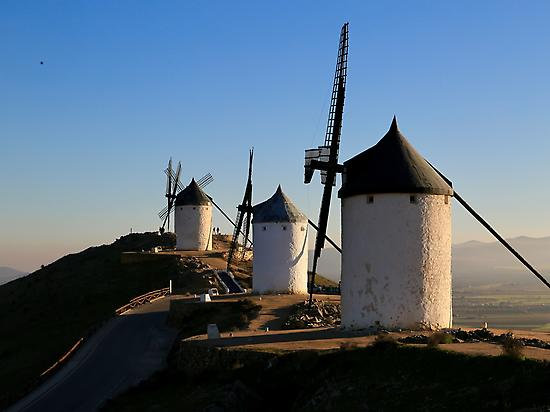 The famous windmills in Consuegra
