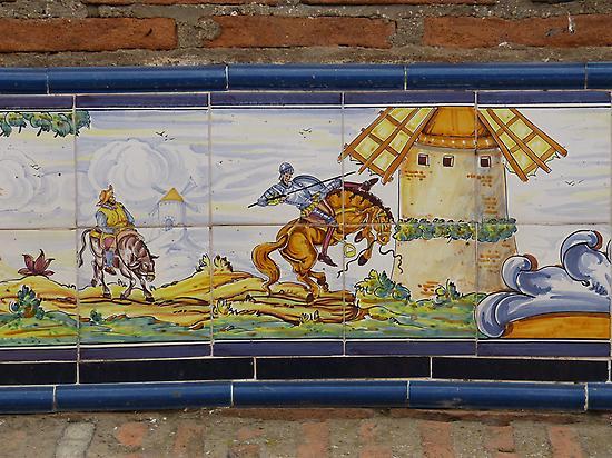 El heroe del día: Don Quijote