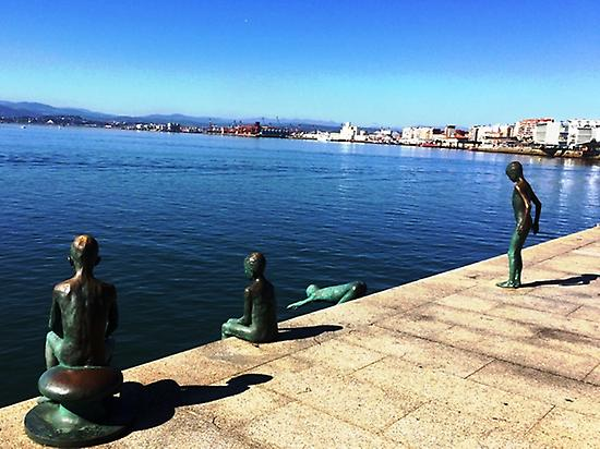 Santander promenade