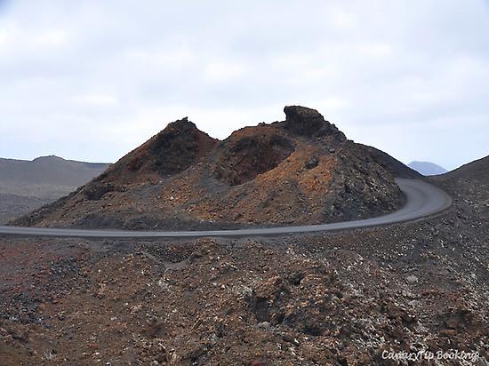 Route in Timanfaya