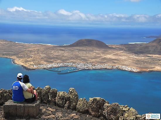 La Graciosa island from Mirador del Río