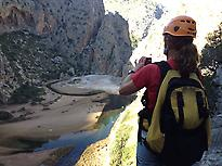 End of the Torrent de Pareis
