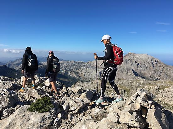 Hiking in the Tramunatana Mountain range