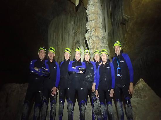 Colums, stalagmites, stalactites