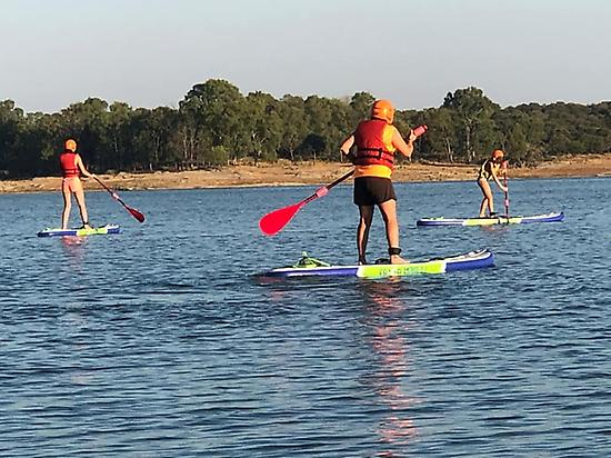 Paddle Board in groups