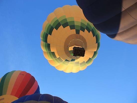 Floating over Toledo