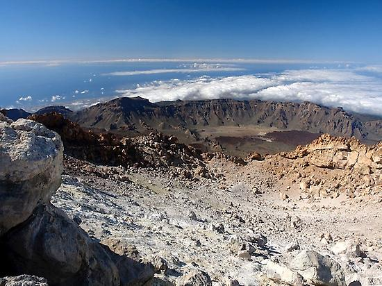 Teide crater